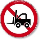 No Forklifts Or Industrial Vehicles