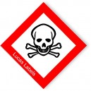 CLP GHS Toxic Safety Symbol