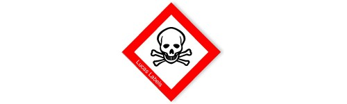 GHS Toxic Warning Label