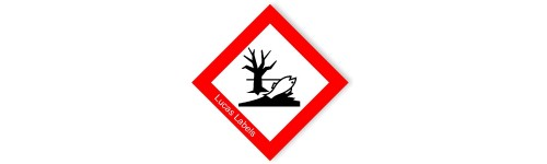 GHS Environmentally Hazardous Warning Label